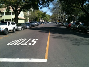 17th St parallel parking