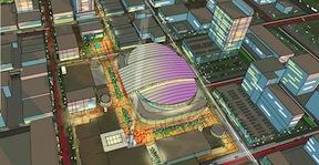 arena arial, from City of Sacramento