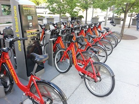 Washington DC's Capital BikeShare