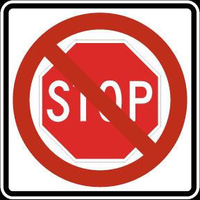 stop-slash