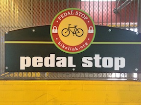 Folsom Pedal Stop sign
