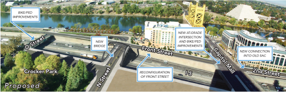 Riverfront Reconnection fact sheet diagram