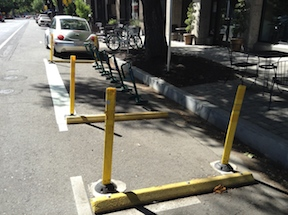 bike corral, L Street, between 19th and 19th