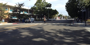 crossing guard for DMV on 24th Street