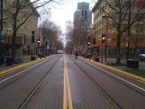 K Street at 11th Street