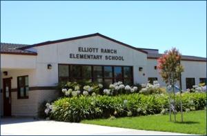 typical greenfield school, Elliott Ranch ES, Elk Grove