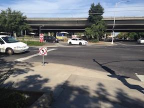 no pedestrian crossing means three crossings