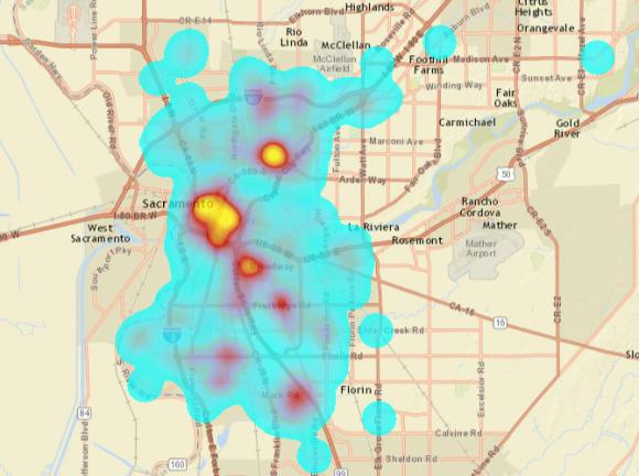 Sac_ped-collisions_heatmap