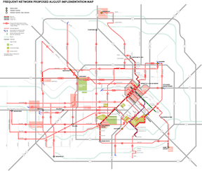 Houston METRO Frequent Network