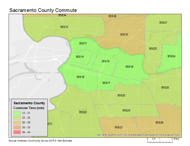 Sacramento-central-commute-time