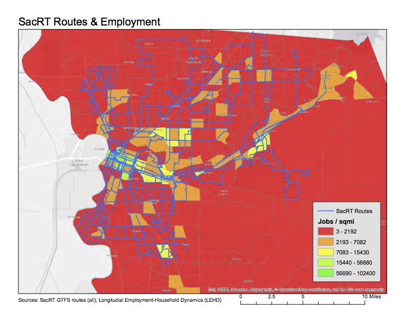 SacRT and employment